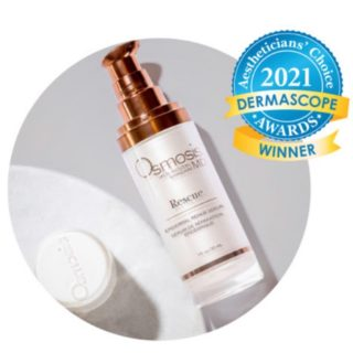 Osmosis Rescue MD WINS the trophy!🏆🌟Thank you @dermascope for the recognition🙏🏻  Rescue is definitely a MUST HAVE in your skin care arsenal! It calms inflammation, activates wound repair, & dramatically improves overall texture and age spots.   Amazing for anyone with acne, pigmentation, redness, large pores, or just aging skin🙌🏻  I personally can't live without it and neither can most of my clients!🤩 #holisticskincare #naturalskincare #osmosisskincare #osmosisbeauty #bestskincare #rosacea #acne #pigmentation